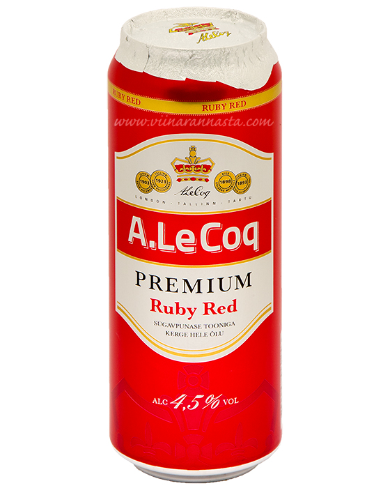 A.Le Coq Premium Ruby Red 4,5% 50cl