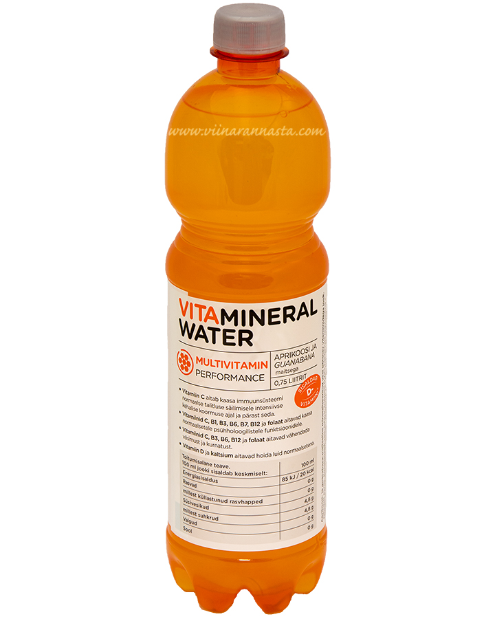 Vitamineral Water Multivitamin 75cl