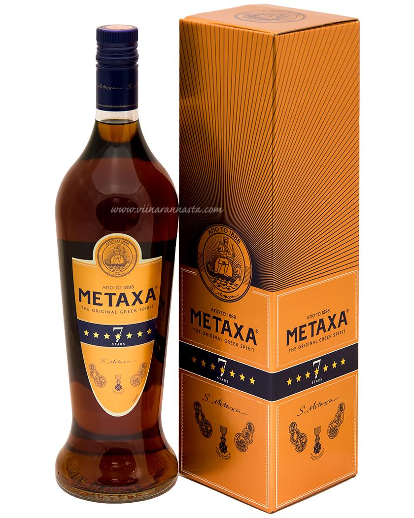 Metaxa 7* 40% 100cl