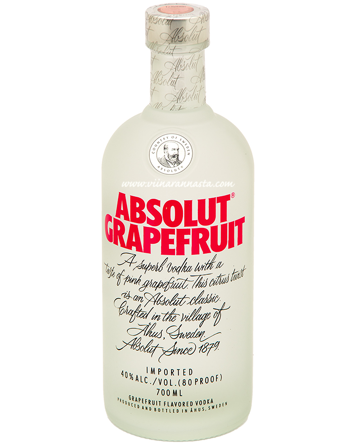 Absolut Grapefruit 40% 70cl
