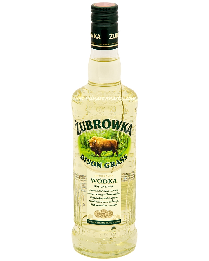 Zubrowka Bison Grass 37,5% 50cl
