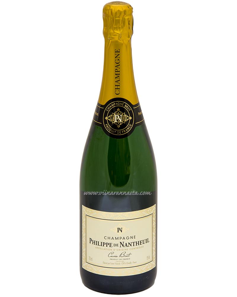 Philippe de Nantheuil Brut Champagne 12% 75cl