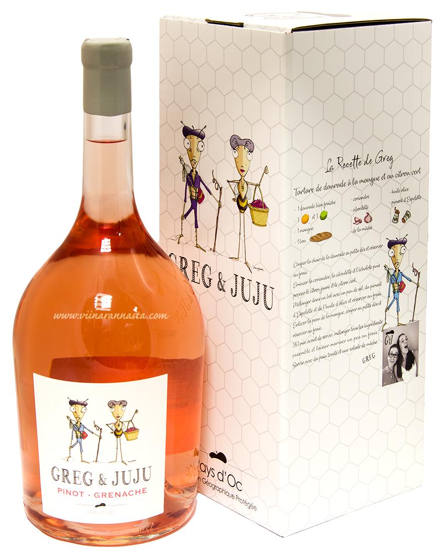 Greg & Juju Pinot Grenache 12,5% 300cl