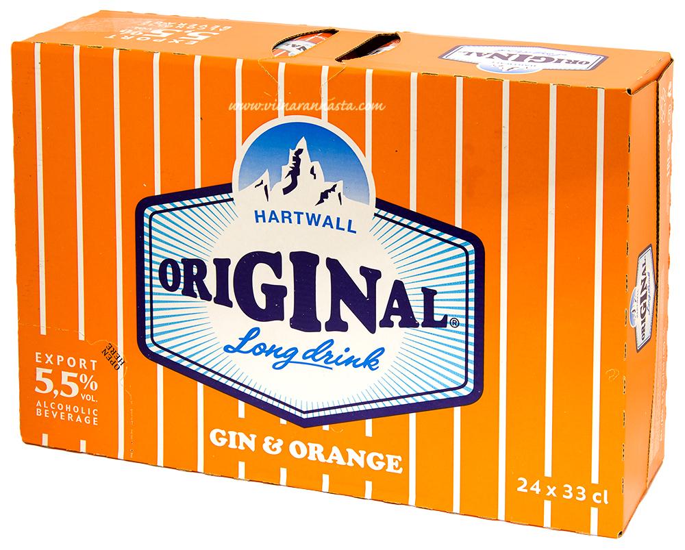 Hartwall Original Long Drink Gin & Orange 5,5% 24x33cl