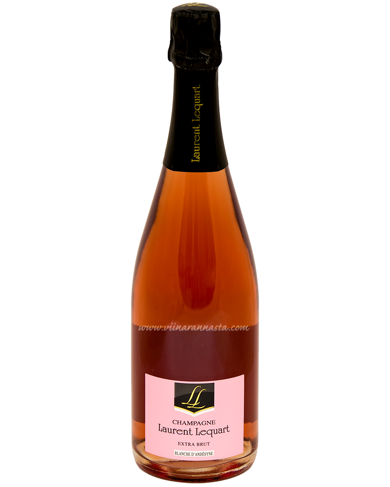 Laurent Lequart Rose Extra Brut 12% 75cl