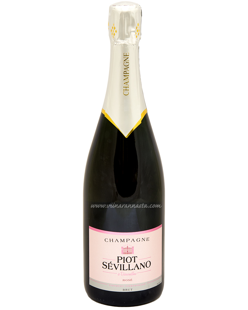 Piot Sevillano Rose Brut 12% 75cl