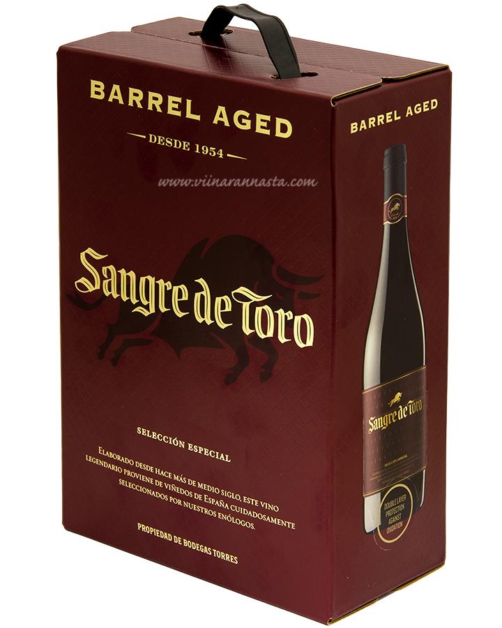 Torres Sangre de Toro Barrel Aged 14% 300cl BIB