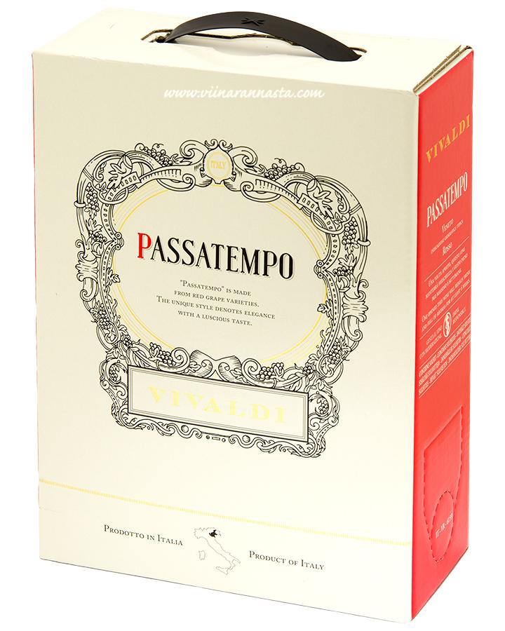 Vivaldi Passatempo Rosso 14% 300cl BIB
