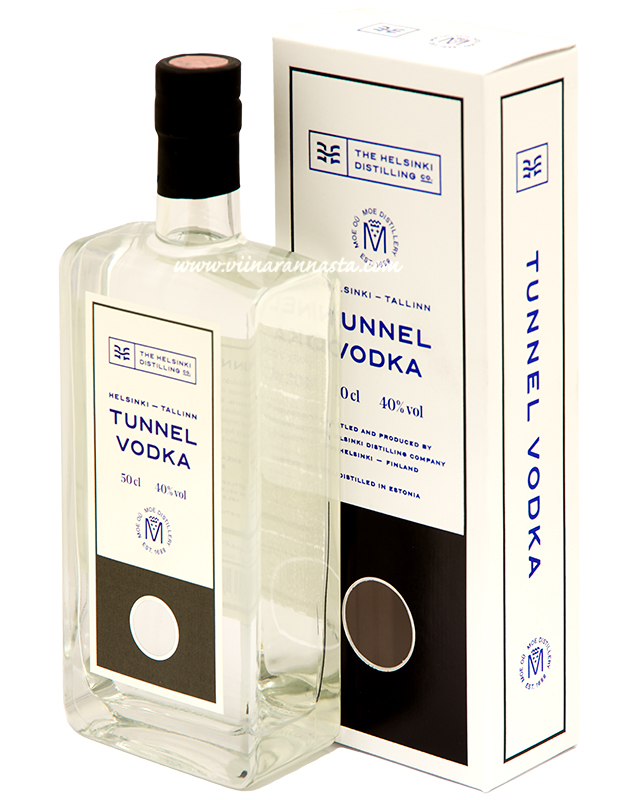 Helsinki Tunnel Vodka 40% 50cl