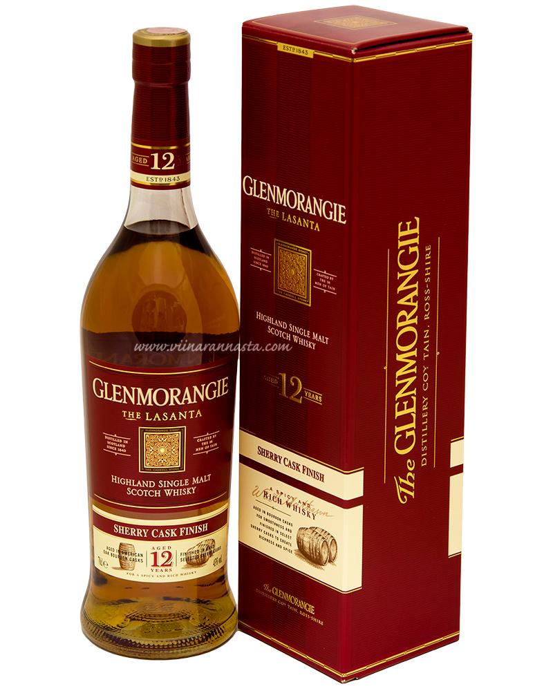 Glenmorangie 12YO Lasanta 43% 70cl