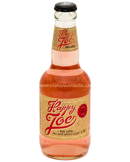 Happy Joe Red Love Dry Rose Apple Cider 4,5% 27,5cl