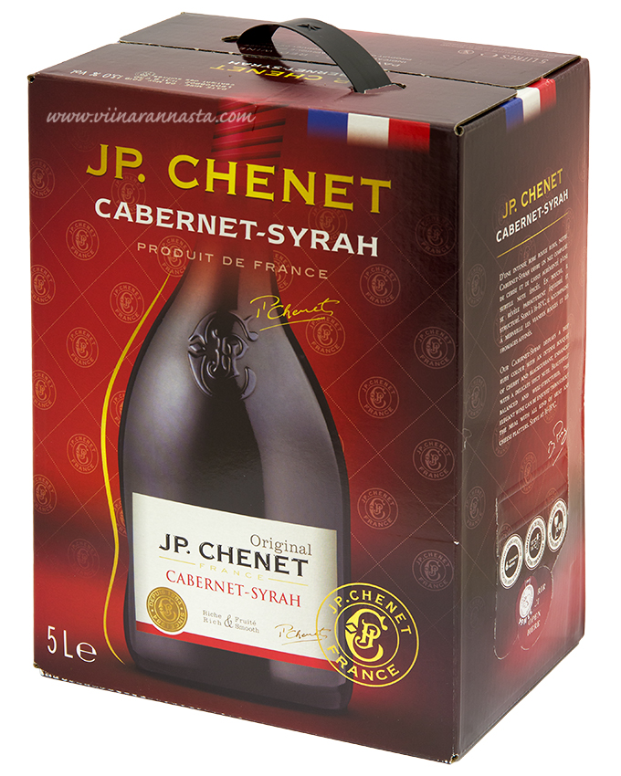 J.P.Chenet Cabernet-Syrah 13% 500cl BIB