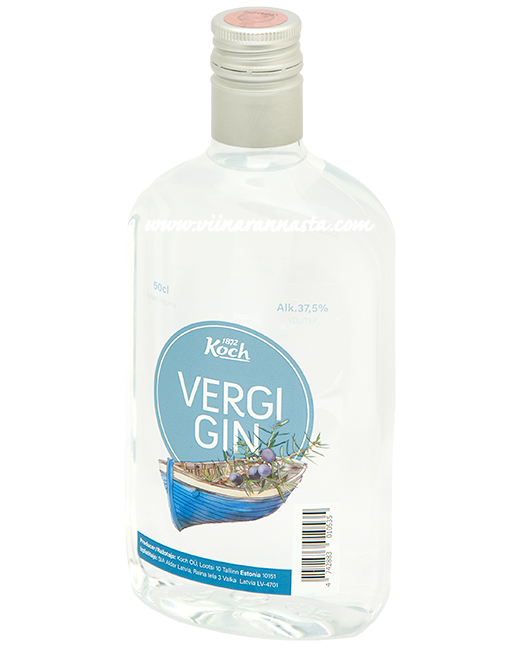 Vergi Original Gin 37,5% 50cl PET