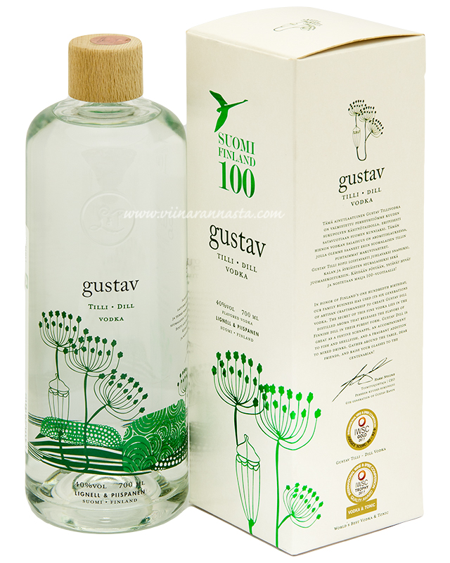Gustav Dill Vodka 40% 0,7L