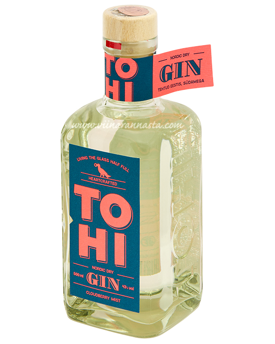 Tohi Dry Gin Cloudberry Mist 43% 50cl