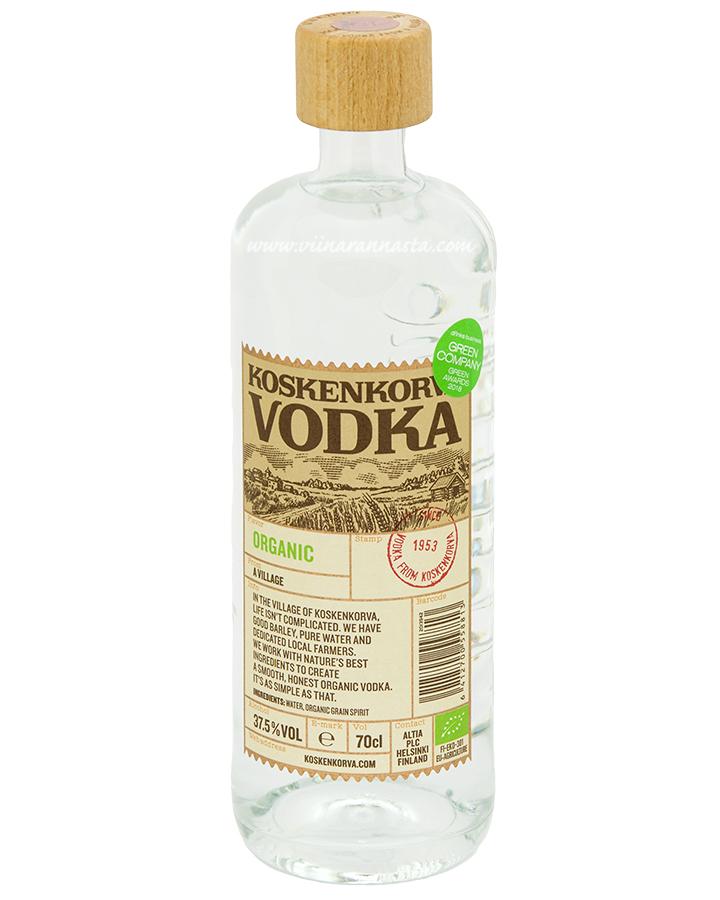 Koskenkorva Organic Vodka 37,5% 70cl