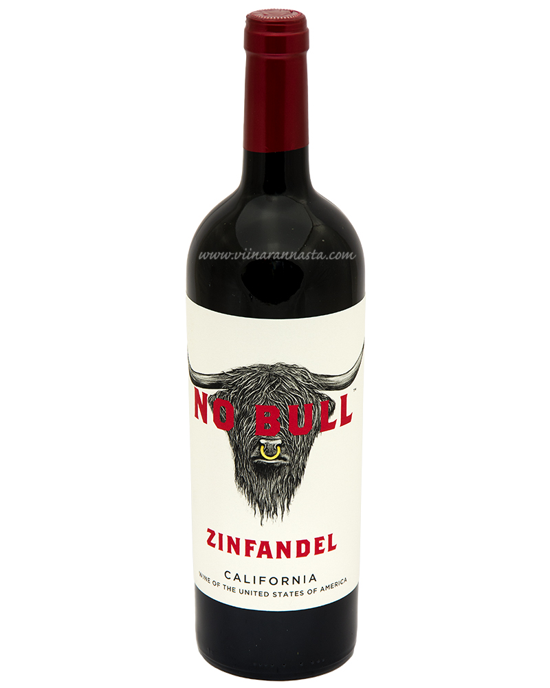 No Bull Zinfandel California  14% 75cl