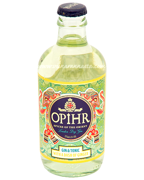 Opihr Gin & Tonic Ginger  6,5% 27,5cl