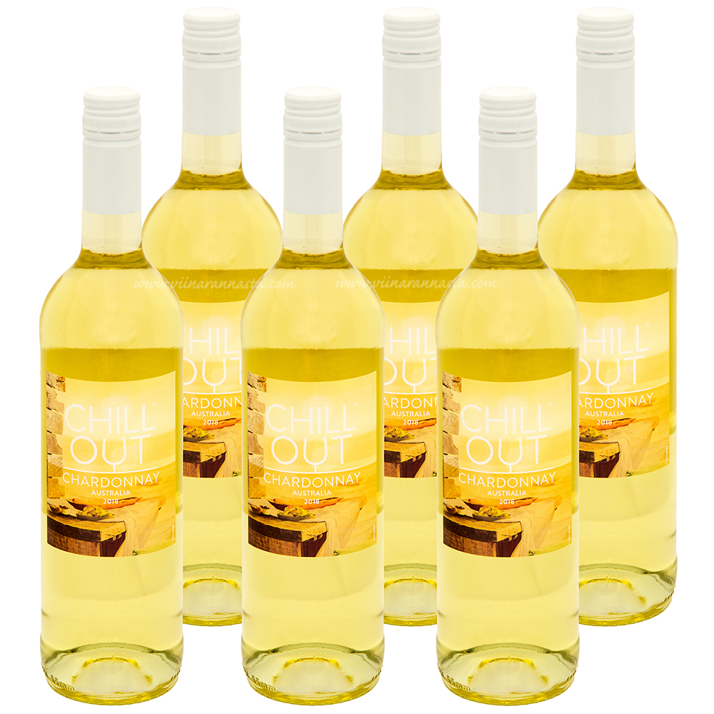 Chill Out Australian Chardonnay 12,5% 6x75cl