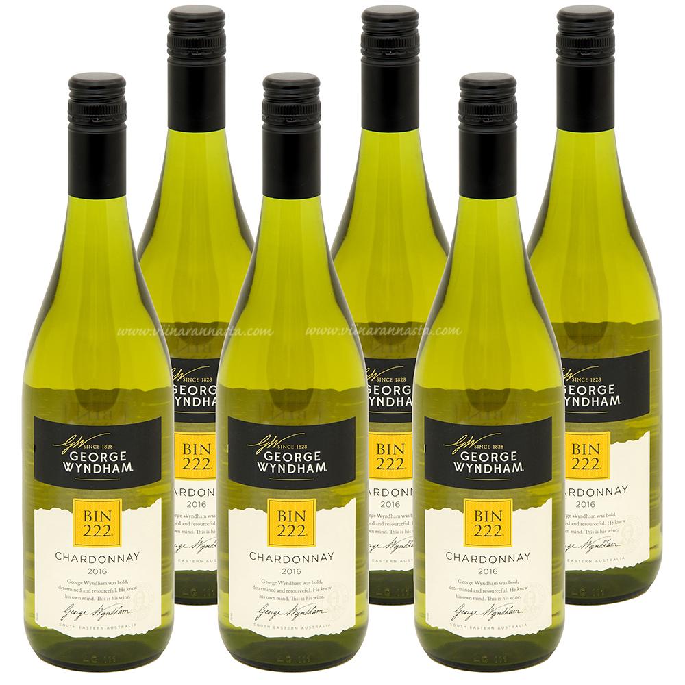 Wyndham BIN 222 Chardonnay 13,5% 6x75cl