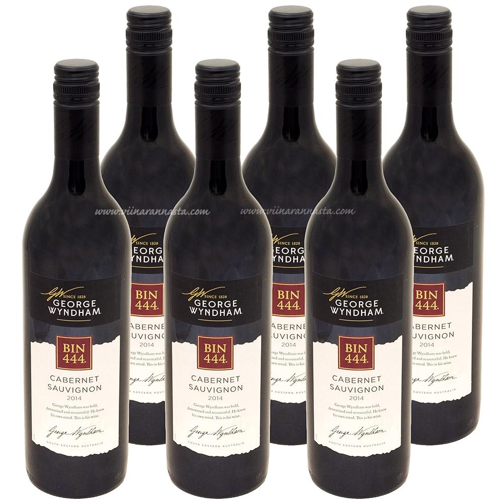 Wyndham BIN 444 Cabernet Sauvignon 14% 6x75cl