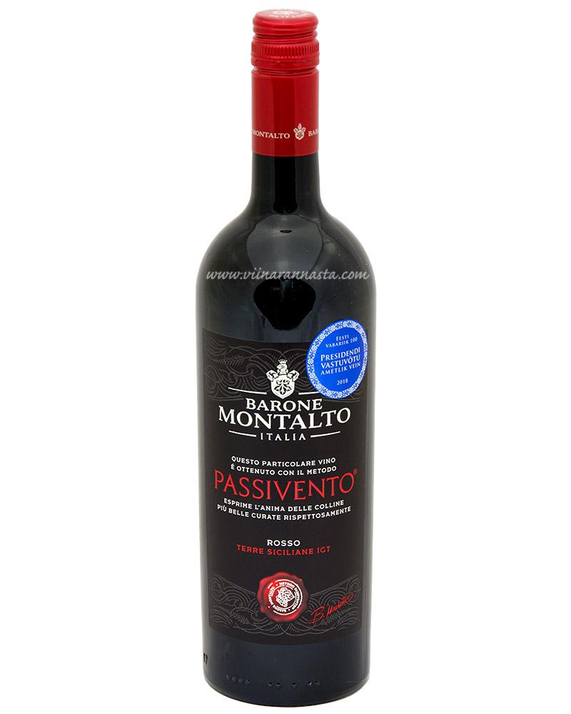 Barone Montalto Rosso Passivento 14% 75cl