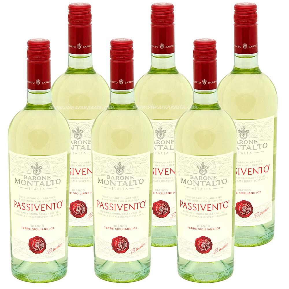 Barone Montalto Bianco Passivento 12,5% 6x75cl