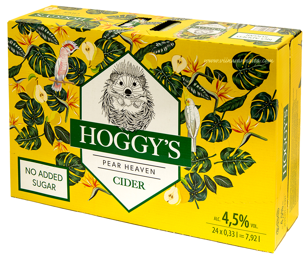 Hoggys Pear Heaven 4,5% 24x33cl TIN