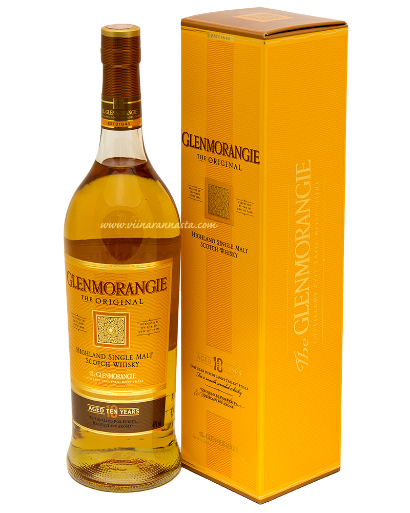 Glenmorangie 10YO Single Malt 40% 100cl