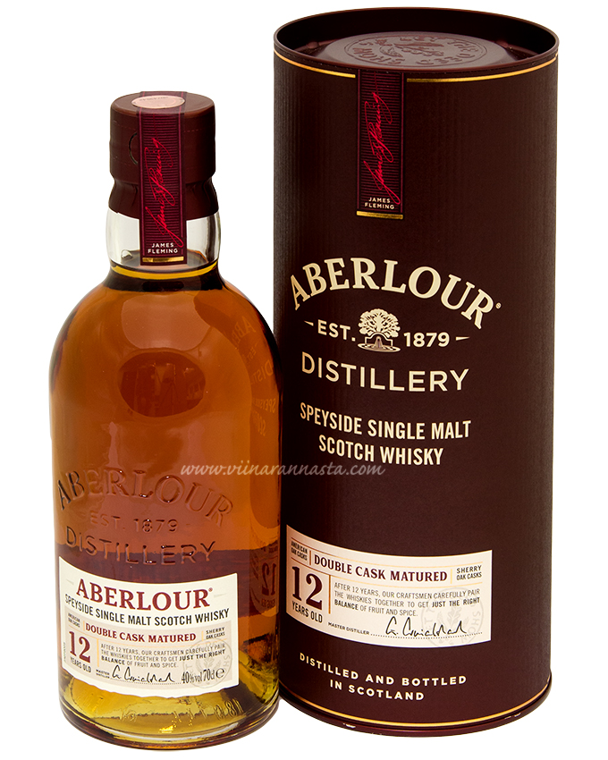 Aberlour 12YO Double Cask Matured 40% 70cl
