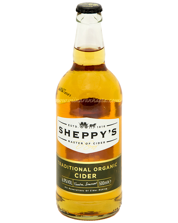 Sheppys Organic Cider 6% 50cl