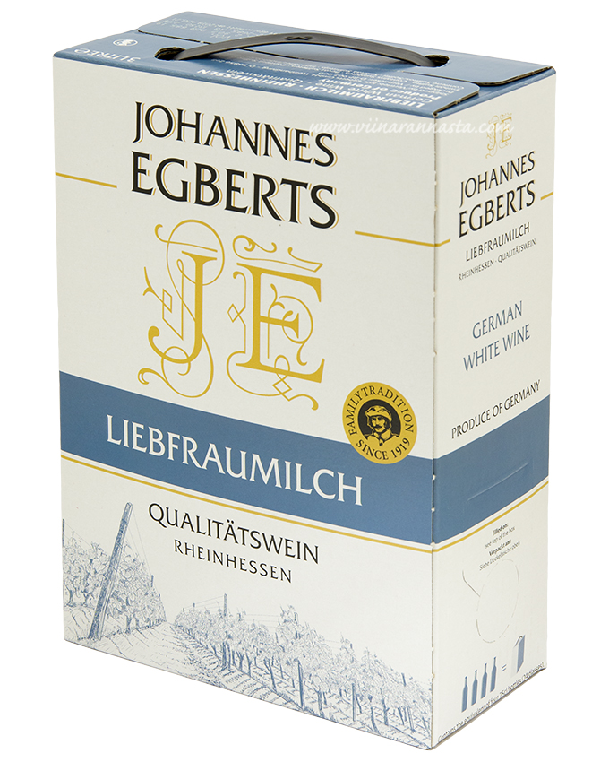 Johannes Egberts Liebfraumilch 8,5% 300cl BIB