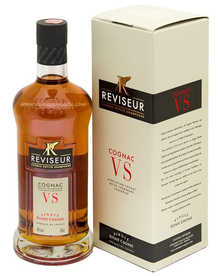 Reviseur Single Estate Cognac VS 40% 70cl BOX