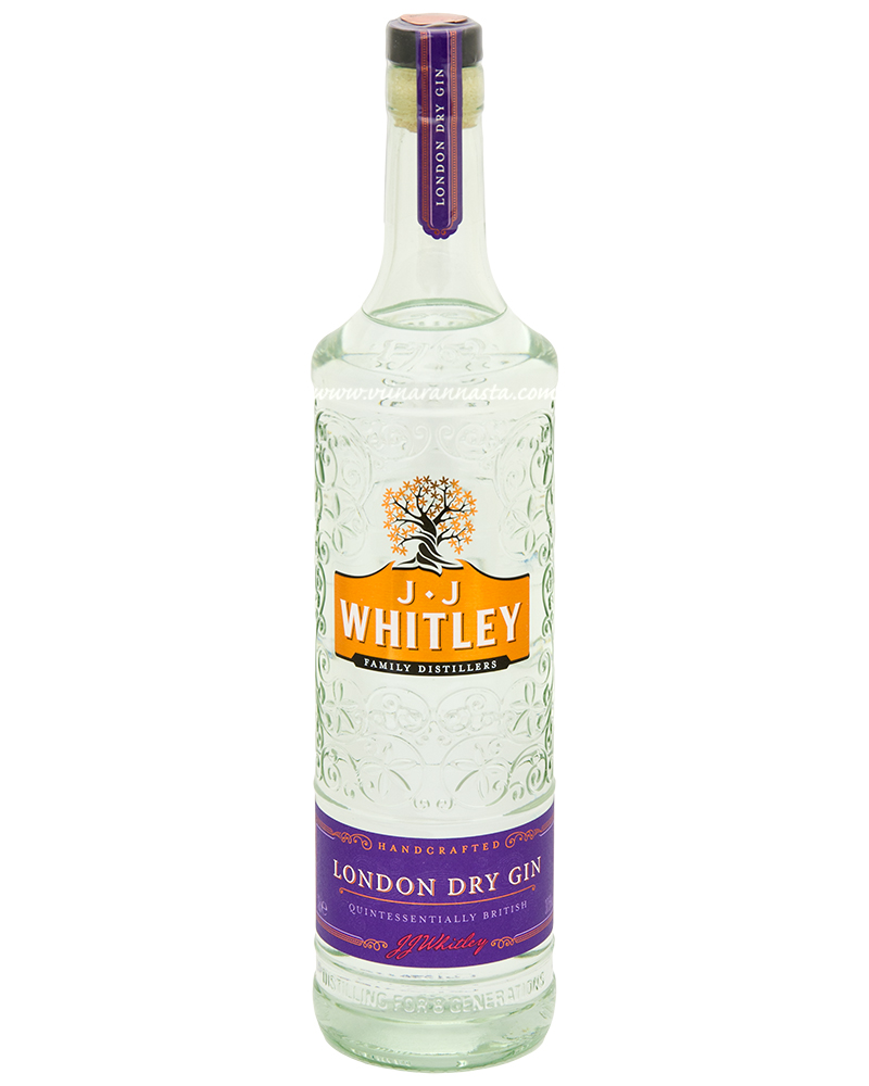 J.J Whitley London Dry Gin 37,5% 70cl