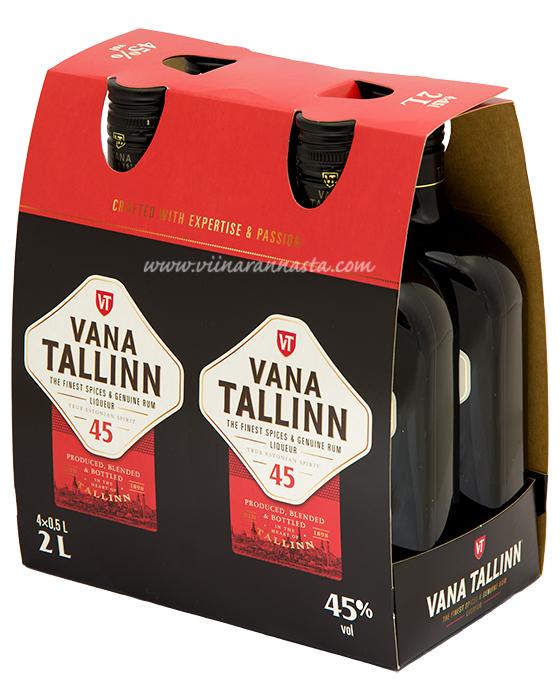 Vana Tallinn 45% 4x50cl PET