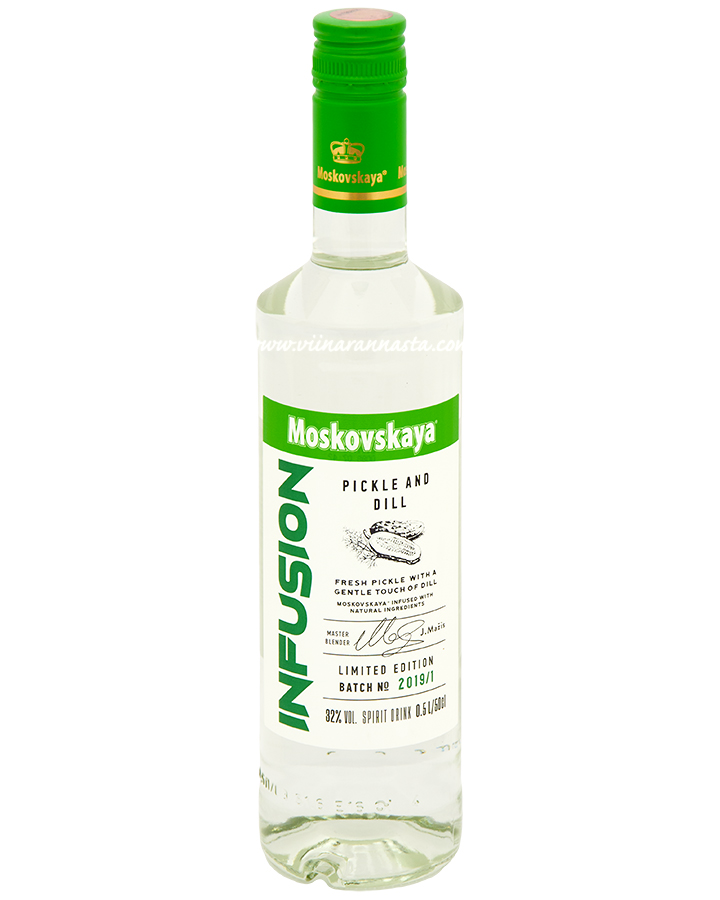 Moskovskaya Infusion Pickle and Dill 32% 50cl