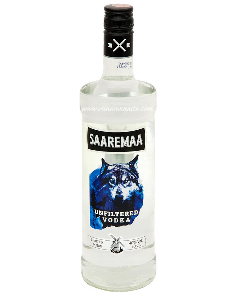Saaremaa Vodka Unfiltered 40% 70cl