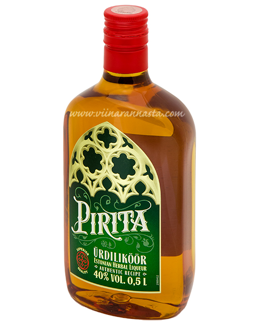 Pirita Herbal Liqueur 40% 50cl PET