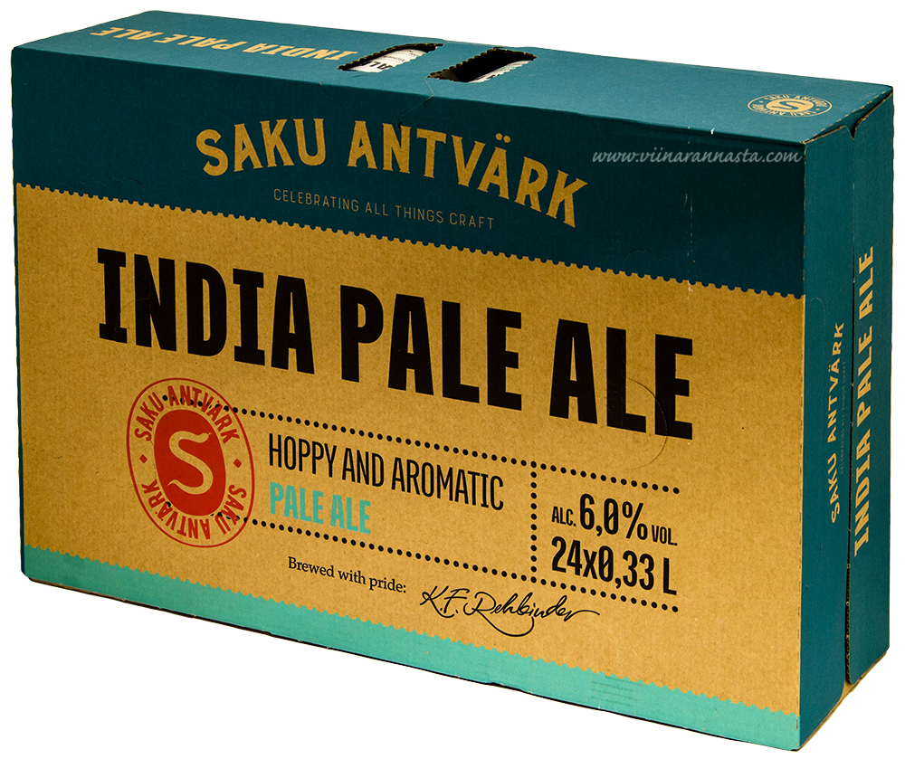 Saku Antvärk India Pale Ale 6% 24x33cl