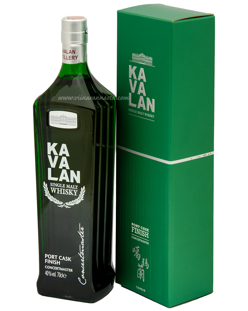 Kavalan Port Cask Finish Concertmaster 40% 70cl