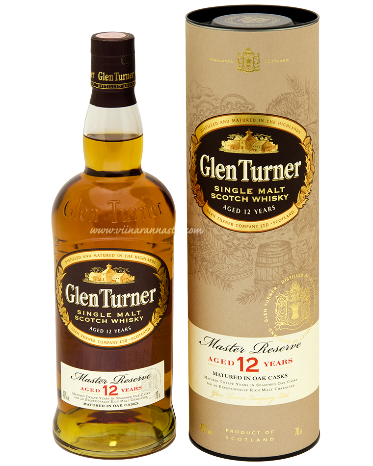 Glen Turner 12YO Single Malt 40% 70cl