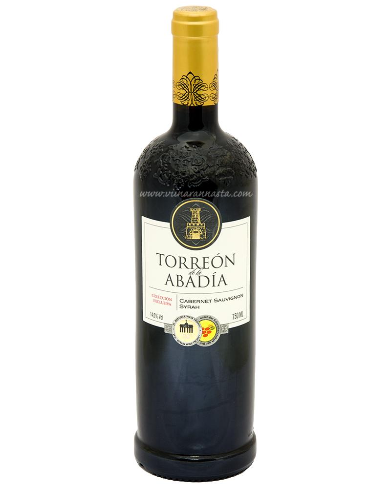 Torreon De La Abadia Cabernet Sauvignon Syrah 14% 75cl