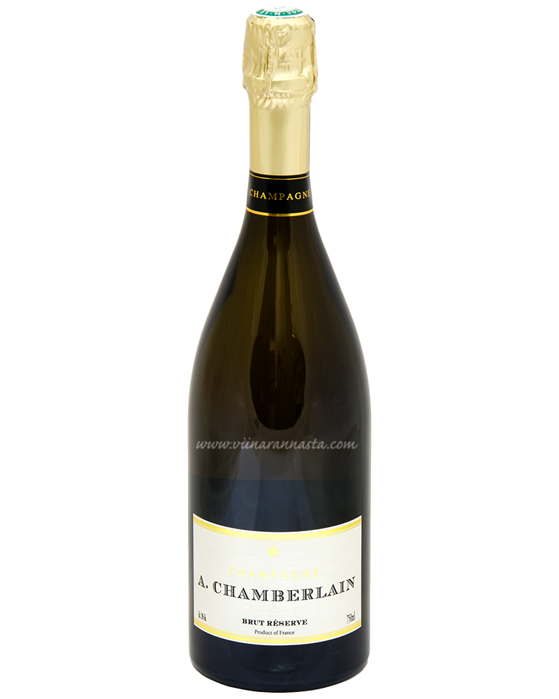 A.Chamberlain Brut Reserve Champagne 12% 75cl