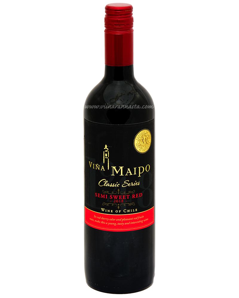 Vina Maipo Classic Semi Sweet Red 12% 75cl