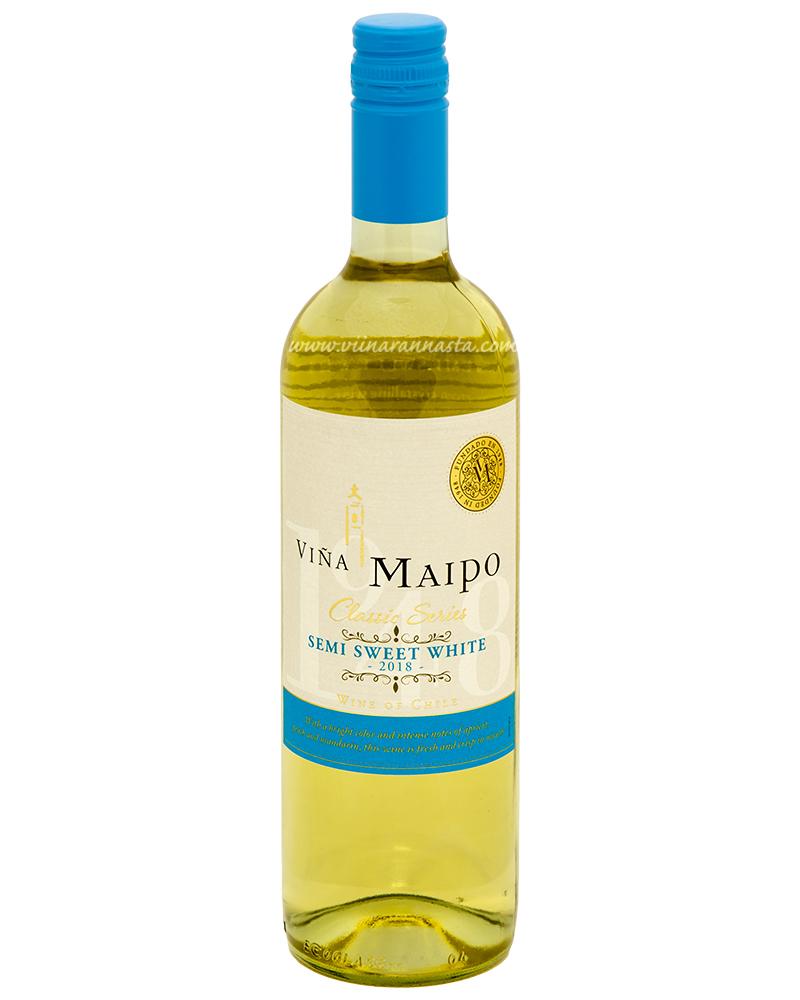 Vina Maipo Semi Sweet White 12,5% 75cl