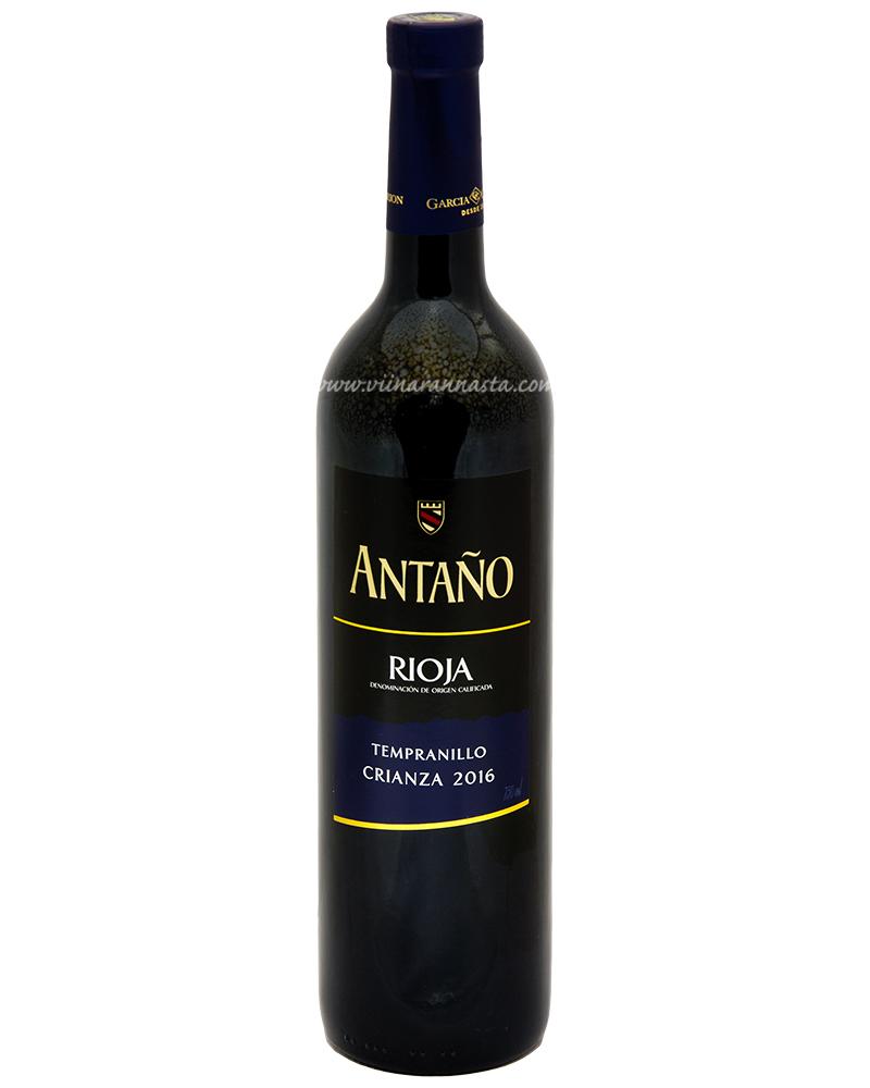 Antano Rioja Tempranillo Crianza 13,5% 75cl
