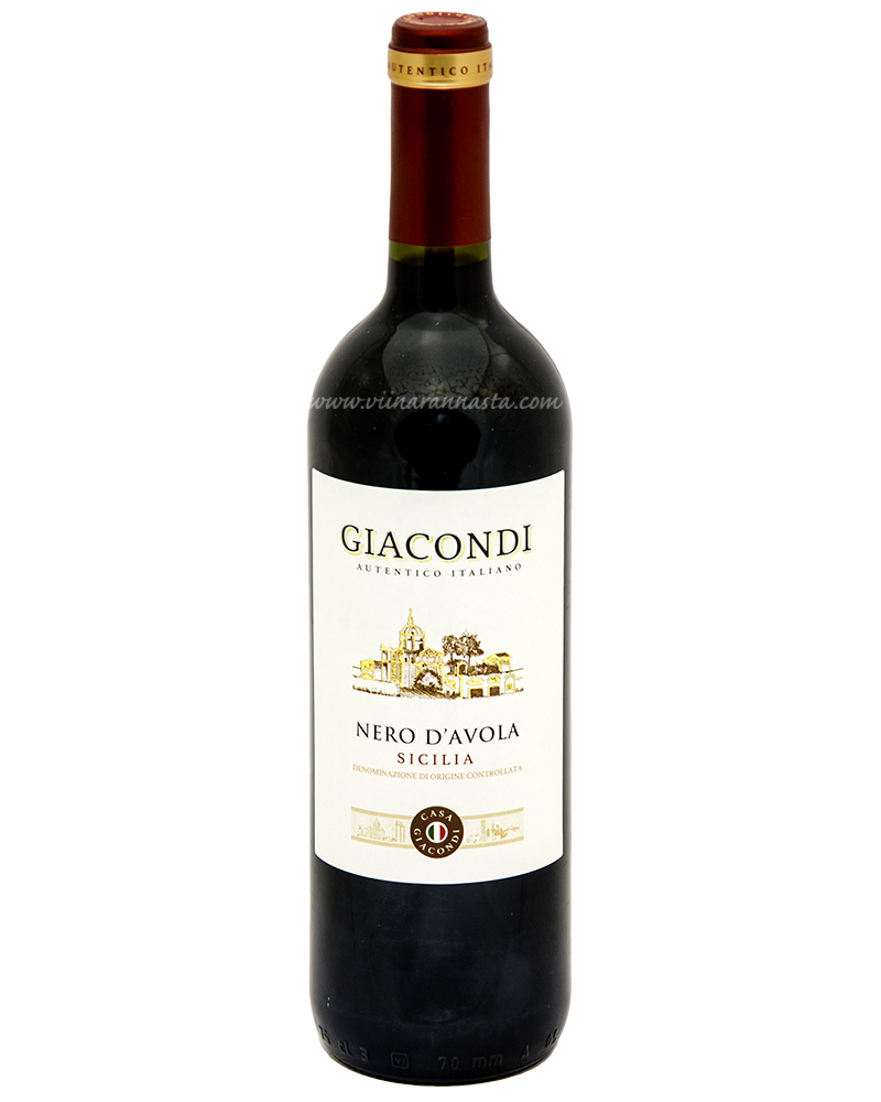 Giacondi Nero D Avola Sicilaine 13% 75cl