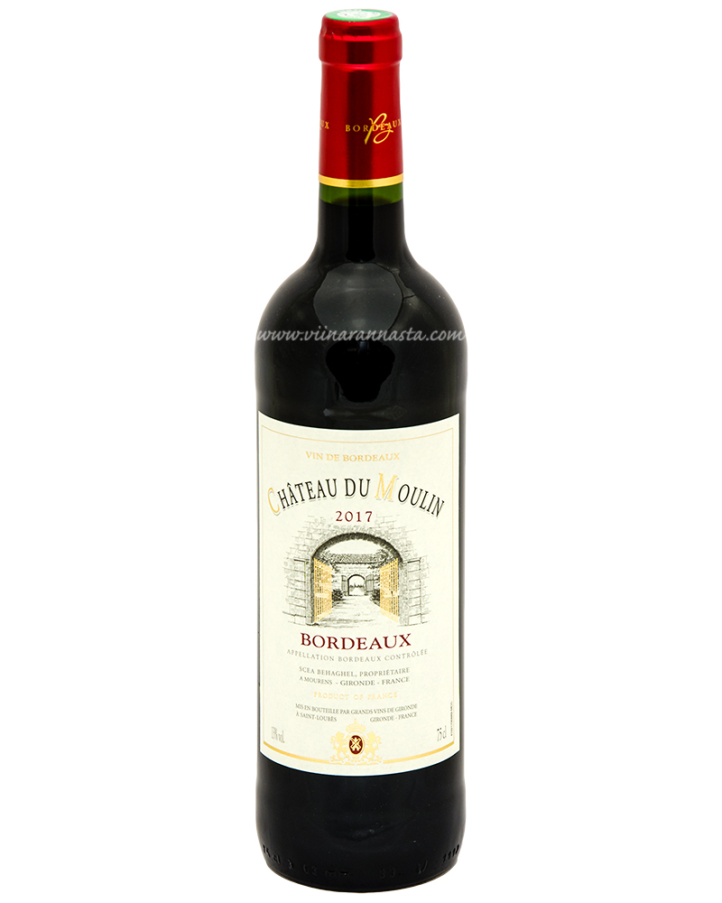 Chateau du Moulin Bordeaux 13% 75cl