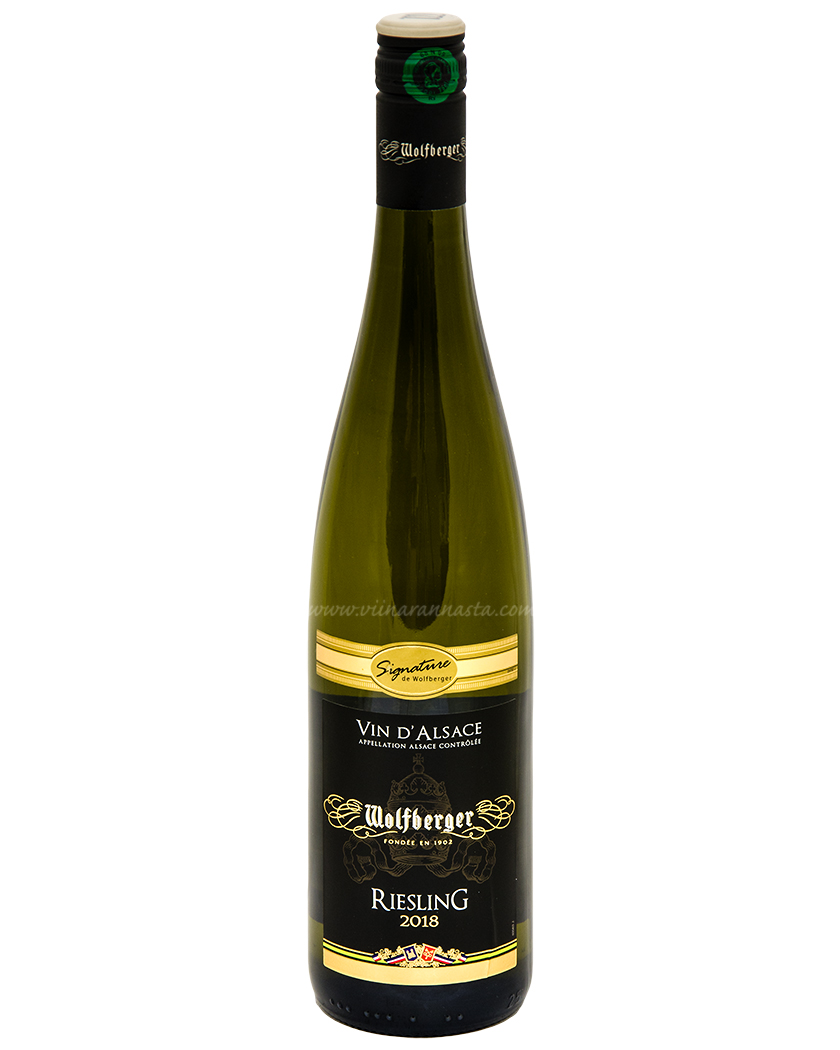 Wolfberger Riesling vin d Alsace 12,5% 75cl