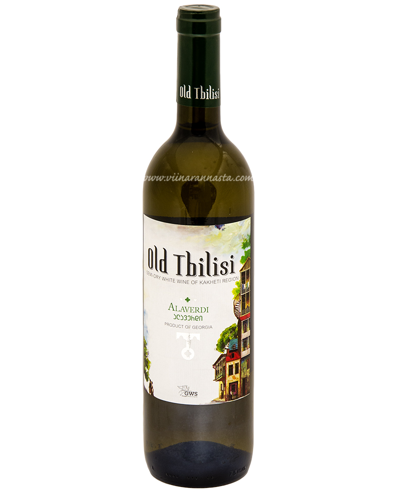 Old Tbilisi Alaverdi Semi Dry White Wine 12,5% 75cl